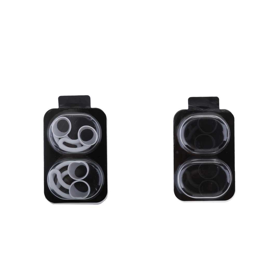 8 sztuk wymiana słuchawki silikonowe etui antypoślizgowe słuchawki douszne Hook Eartips dla Beats BeatsX bezprzewodowe słuchawki douszne