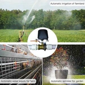 Image 4 - Spetu Wifi akıllı su vanası akıllı ev otomasyon sistemi vanası için gaz su kontrol Alexa ile çalışmak google ev asistanı IFTTT