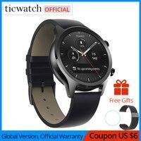 Ticwatch C2 Smartwatch אנדרואיד ללבוש OS מובנה GPS קצב לב צג כושר Tracker Google לשלם 400mAh 1-1.5 ימים 1.3 ''AMOLED
