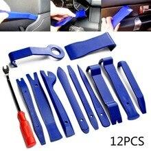 12 * strumenti per la rimozione del pannello dellauto pannello per Auto portatile pannello Audio Trim rimozione del cruscotto installatore Kit leva cruscotto automatico interni in plastica