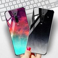 For Xiaomi Mi 9T Case Tempered Glass Fundas Xiaomi Poco M3 F3 X3 Pro NFC F2 Pocophone F1 Redmi Note 8 8T Mi 10 10t Lite A3 Cover