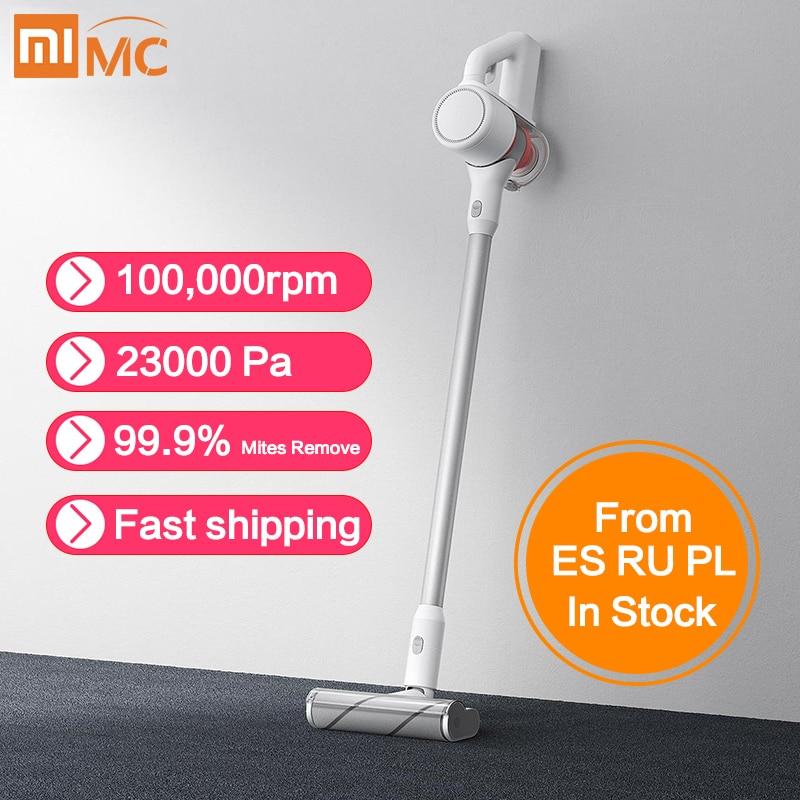 Xiaomi Mijia ручной беспроводной пылесос портативный беспроводной циклонный фильтр Aspirador домашний подметальный ковер пылесборник