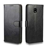 Custodia di lusso per Samsung Galaxy J3 J5 J7 2016 custodia Galaxy J2 J5 J7 2017 2018 custodie portafoglio in pelle porta carte di credito custodia in silicone telefono