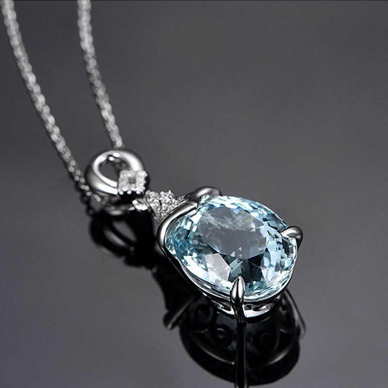 טרנדי בוהמי פנינה אבן תליון שרשרת תכשיטי מלאך קסמי בציר טבעי Boho כסף שרשרת תכשיטי מתנה bijoux