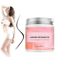 250g transporte da gota celulite creme quente músculos apertados-acalma a perna relaxa massagem adiposo e aperta a perda de queima de peso da pele