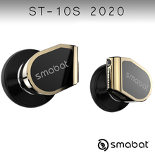 Smabat ST10s High Impedance Metal Headphones Hifi Wired Earbuds Mmcx Detachable Cable