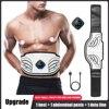 Electronic Intelligent Abs Training Massage Belt Sports Abdominal Muscle Stimulator Toning Body Slimming Shaping Belt Fitness
