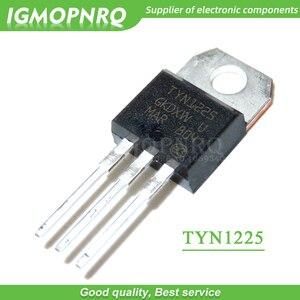 Free shipping 10pcs/lot SCR TYN1225 25A 1200V TO-220 thyristor new original