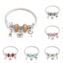Women's Chain Bracelet Alloy Charm Spring Spring Bracelet Female DIY Jewelry Beautiful Bracelet Pendant Adjustable Jewelry alloy metal star charm chain bracelet