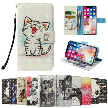 3D flip wallet Leather case For TP-Link Neffos C7 Lite C7s C5 Plus Max C5A C5s C7A C9A C9 N1 X9 Y5s X1 Lite C5L Y50 Phone Cases