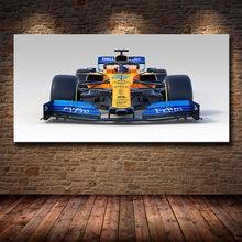 Wand Kunst Bild Mclaren F1 Rennen Auto Fahrzeug Poster und Drucke Leinwand Kunst Leinwand Malerei Wohnzimmer Schlafzimmer Dekoration