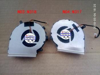 fan for MSI GE72 GE62 PE60 PE70 GL62 GL72 GP62 6QG MS-1794 MS-1795 GE72VR GP72VR 6RF 7RF PAAD06015SL N317 N318 N371 N372 N389 msi ge72vr 6rf 213ru apache pro black
