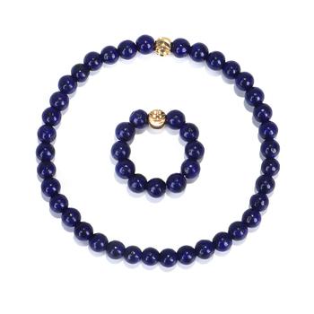4MM naturalne lapis lazuli kamień bransoletki z koralików z miedziane kwiatowe pierścionek koralikowy zestaw biżuterii tanie i dobre opinie TERRECE Brak CN (pochodzenie) Unisex Zakochanych Klasyczny bracelet ring Bransoletki pierścień Moda 2901 Zestawy biżuterii