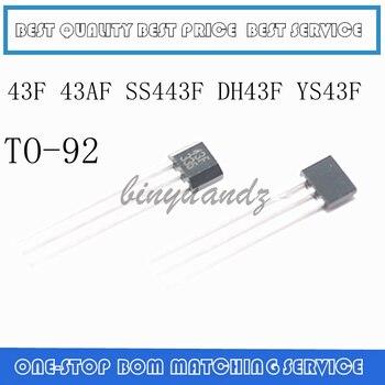 20PCS-100PCS 43F 43AF SS443F DH43F YS43F SS43F SS443A  TO-92 sensor