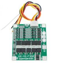 20 pces chegada nova 4S 30a 14.8v li ion lítio 18650 bms bateria blocos pcb placa de proteção equilíbrio circuitos integrados