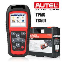 Autel MaxiTPMS TS501 Relearn Tool Reset TPMS, diagnostyka TPMS, odczyt/kasowanie dtc TPMS, aktywacja czujnika, Program mx sensor, klucz