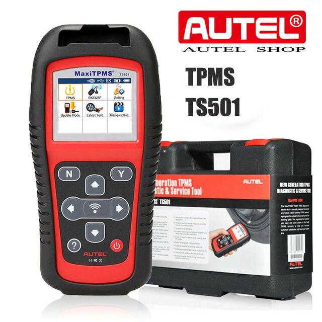Autel maxitpms TS501 再学習ツールtpmsリセット、tpms診断、/クリアtpms dtc、センサー活性化、プログラムmxセンサー、キー