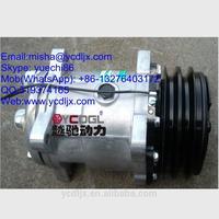 SE5H14 4130000420 Air conditioner compressor assy for 936 WHEEL LOADER spare parts