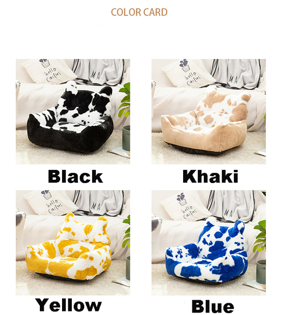 Washable Super Soft Velvet Pet Nest - Cushion Sleeping Bag  5