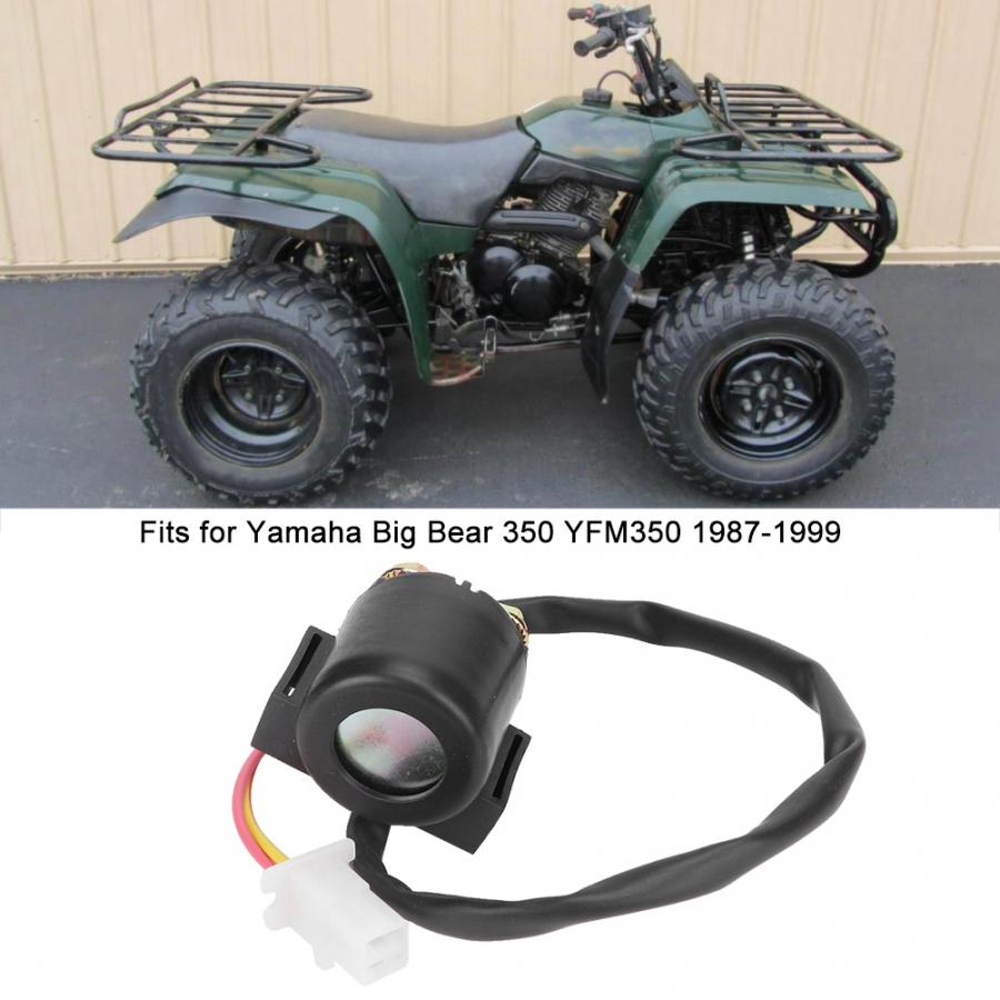 Starter Relay Solenoid Replacement For YAMAHA BIG BEAR 350 YFM350 1987-1999 ATV