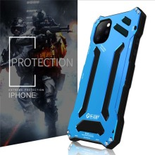 R-JUST Original Case Armor Metal Phone Cover Capa Funda Shockproof Cases Coque For iphone 11 11pro 11proMax KS0354