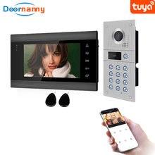Видеодомофон домофон дом wi fi система ahd960p 170 ° дикий угол