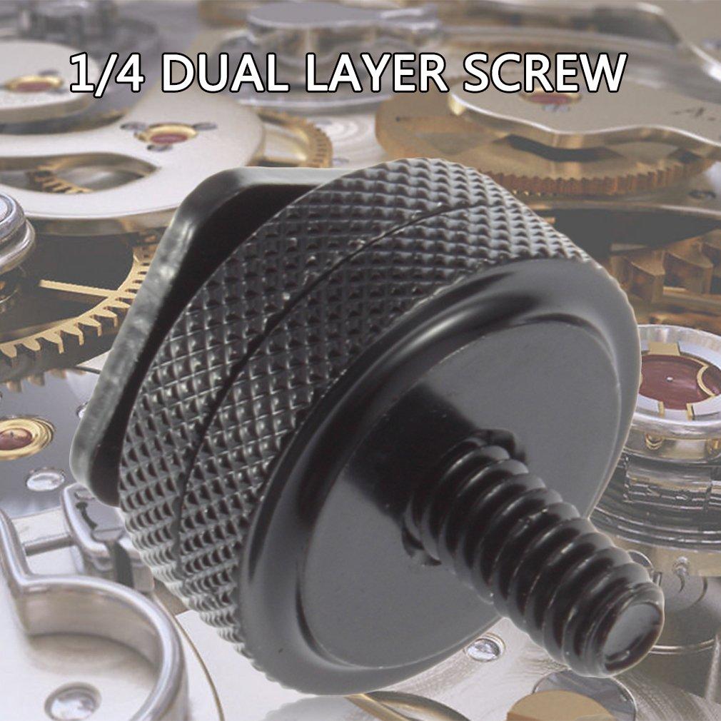 """Высокое качество 1/""""-20 штатив Алюминиевый винт для вспышки Горячий башмак адаптер Fix цифровое устройство черный"""
