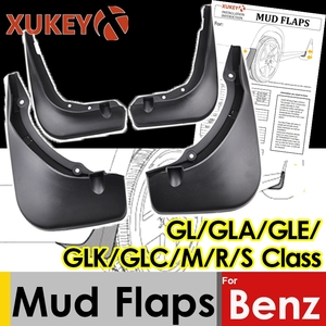 Image 1 - اللوحات الطين لمرسيدس بنز GL الفئة X164 GLA X156 GLE W166 V167 GLK X204 M W164 S W221 V221 GLC الطين سبلاش الحرس واقيات الطين