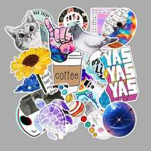 53pcs 50pcs Three optional stickers Animal Planet Graffiti Sticker DIY Refrigerator Skateboard Guitar Decoration PVC