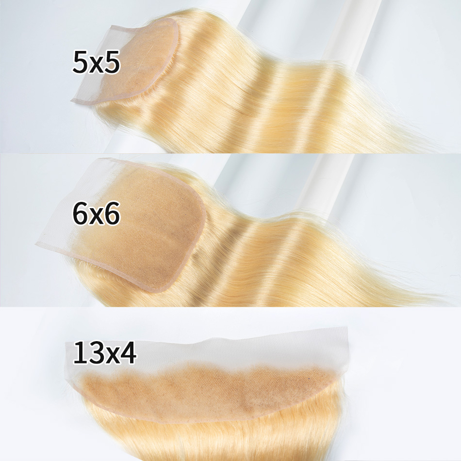 613 кружевная застежка 18 20 дюймов 6x6 5x5 закрытие только девственные 100% человеческие волосы бразильская прямая застежка предварительно выщипа...