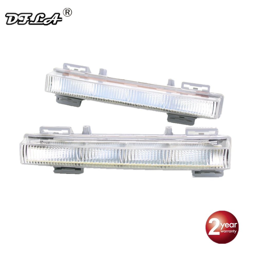 For Mercedes Benz X 204 GLK-Classic 2008 2009 2010 2011 2012 2013 2014 2015 Car-styling LED DRL Daytime Running Light