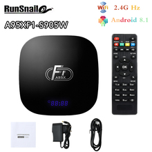 A95XF1 Android8.1 Smart TV Box Amlogic S905W CPU Quad Core C