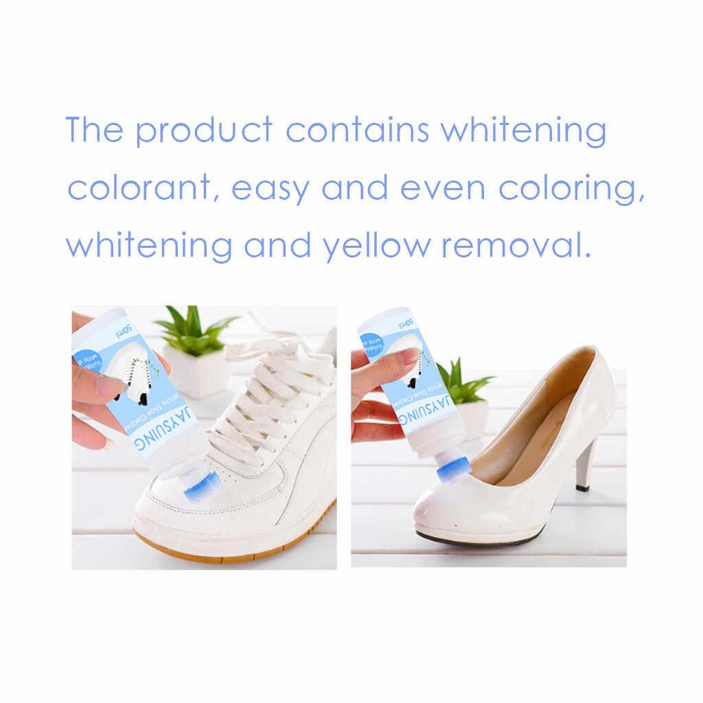 Sport Witte Schoenen Cleaner Witter Verfrist Polish Schoonmaak Tool Voor Casual Lederen Schoen Sneakers Schoen Borstels L * 5