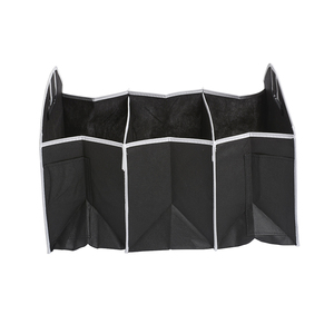 Image 3 - Car Back Seat Organizer Multi Pocket Storage Bag Large Capacity Folding Car Trunk Stowing Tidying Accessories