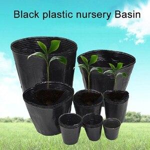 New 100pcs Nursery pot plastic