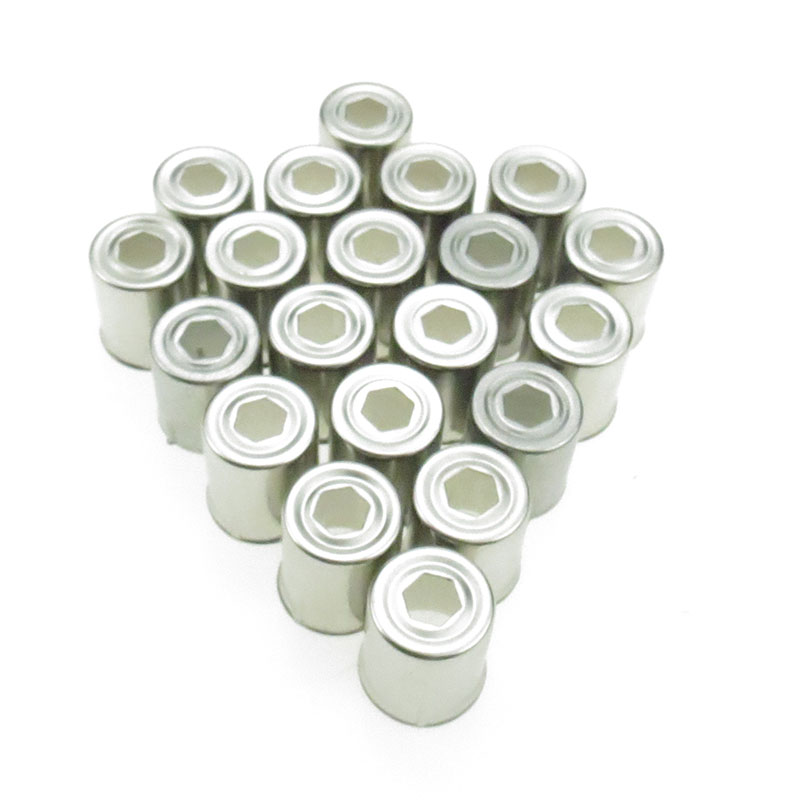 20PC/LOT Stainless Steel Pentagon Hole Magnetron Caps For Microwave Replacement Parts For Microwave Ovens Copler Microondas Caps