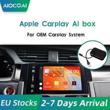 Android 7.0 Carplay Ai Doos 4 + 32G Auto Multimedia Speler Spiegel Link Youtube Android Systeem Plug En Play auto Tv Box