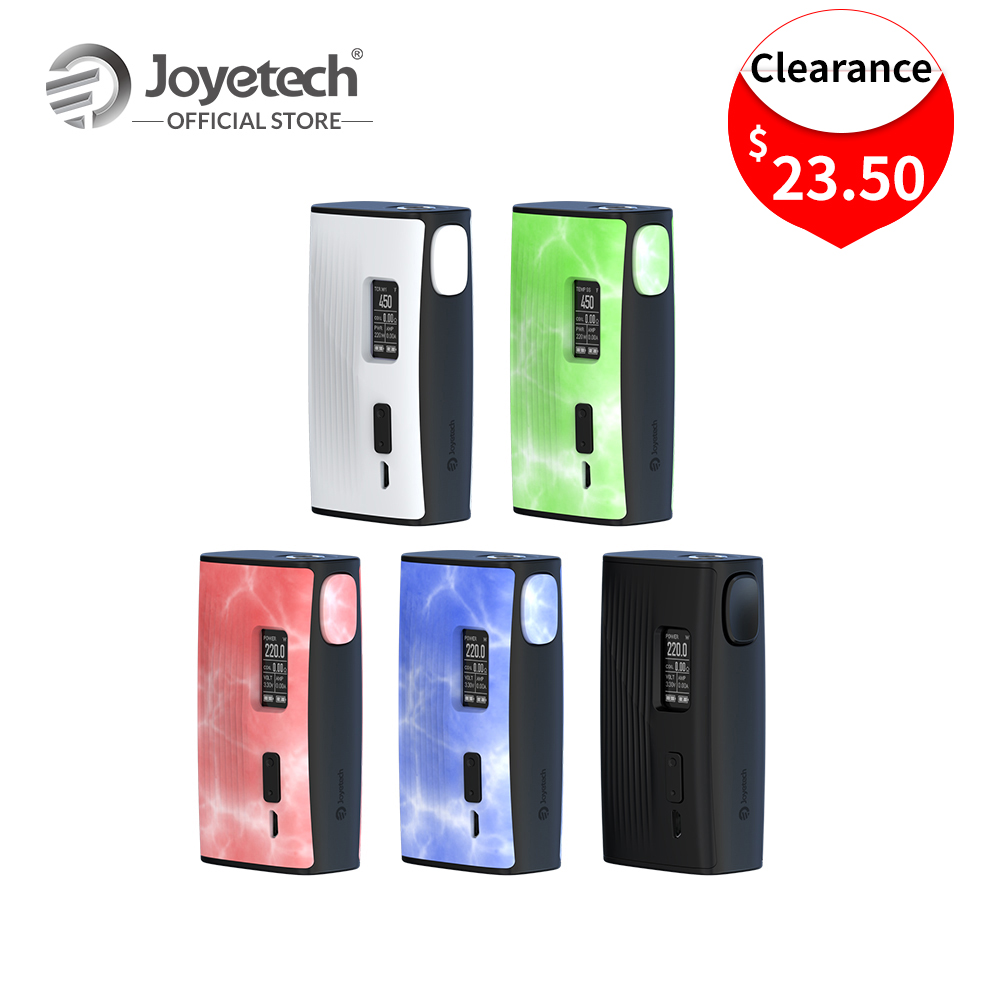 Clearance Original Joyetech ESPION Tour Mod Output 220W Wattage POWER/TEMP(NI/TI/SS)/TCR Mode Electronic Cigarette