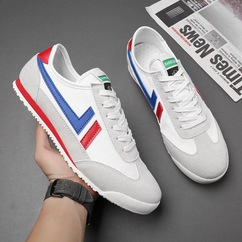 Весенняя обувь Forrest Gump, мужская обувь с низким верхом, простая обувь, холщовая обувь, оптовая продажа 35
