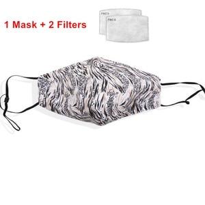Image 5 - Pm2.5 kobiety maska bawełniana przeciwkurzowe zanieczyszczenie powietrza zaworek wydechowy filtr z węglem aktywnym czarne usta maska mężczyźni wielokrotnego użytku maski na twarz