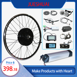 JS 500W 350W Electric Motor Wheel 36V Electric Bike Ebike Conversion Kit for MTB Ebike 20'' 26