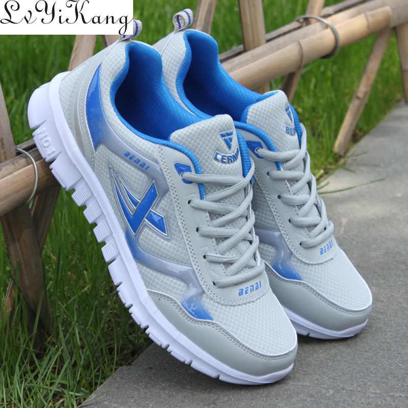 Nam Size 38-46 Nam Giới Trưởng Thành Giày Mùa Hè Thoáng Khí Krasovki Giày Siêu Sáng Giày Nam Tenis Masculino giày Sneakers