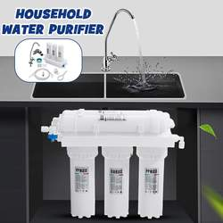 Sistema de filtro de agua potable de ultrafiltración 3 + 2, filtro purificador de agua de cocina para el hogar, con Kits de cartuchos de filtro de agua para grifo