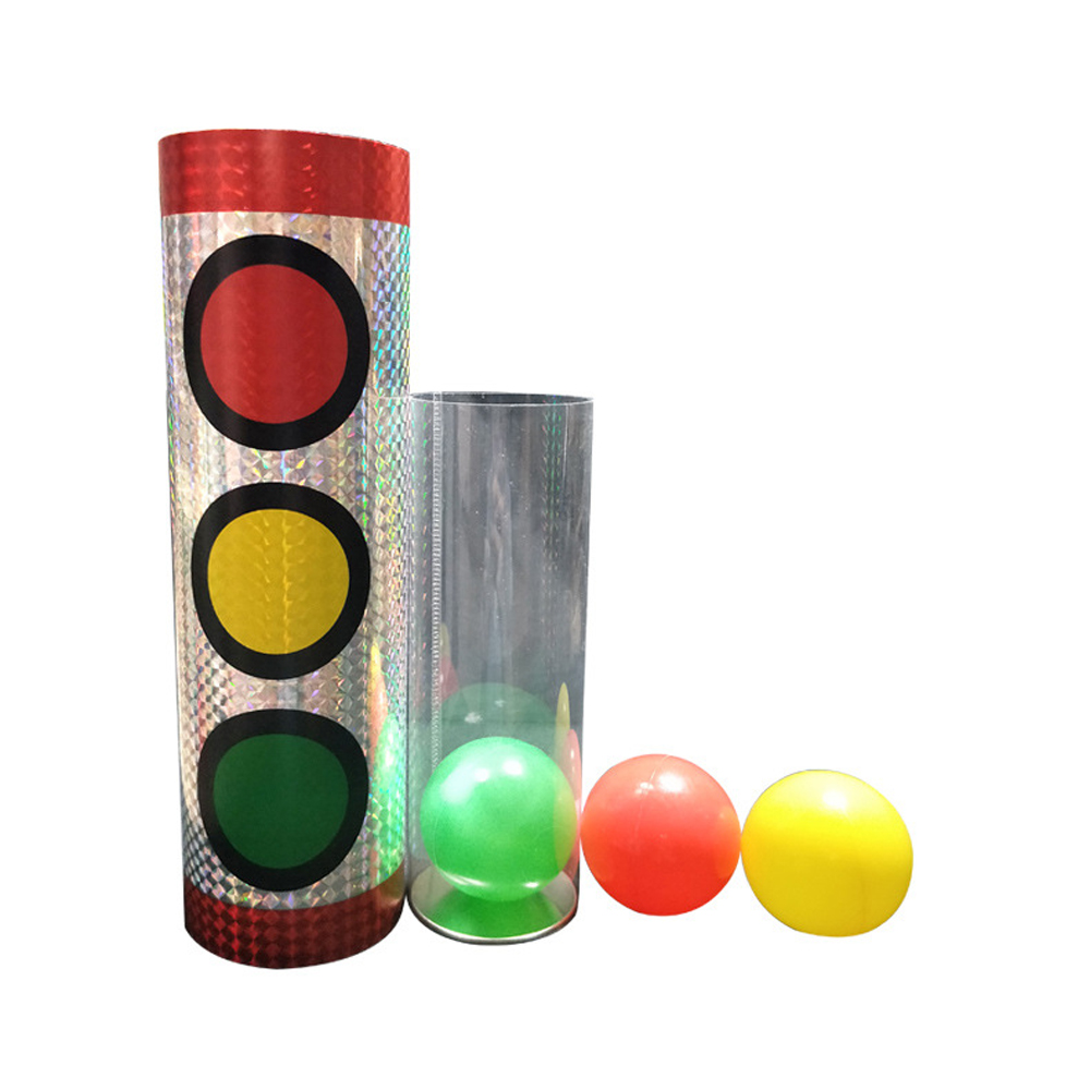 Miracle Balls Magic Tricks Traffic Lights Color Change Stage Magic Props Illusion Gimmick Mentalism Classic Party Toys image