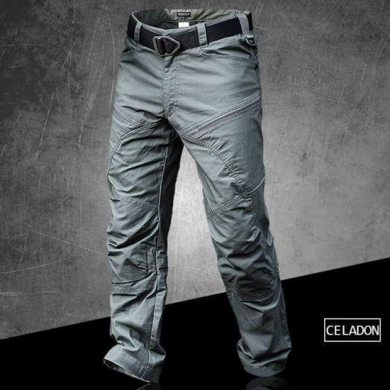 City Military Tactical Pants Men SWAT Combat Army Pants Casual Men Hiking Pants Outdoor Camping Cargo Waterproof Pants