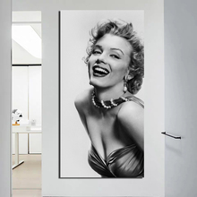 Marilyn Monroe Wallpaper Wall Art Canvas Painting Posters Prints Modern Painting Wall Picture For Living Room Home Decor Artwork цена