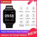 Глобальная версия Lenovo S2 Смарт-часы 1,4 дюймов 240x240p фитнес трекер Band калорий Шагомер сна монитор сердечного ритма вызова советы