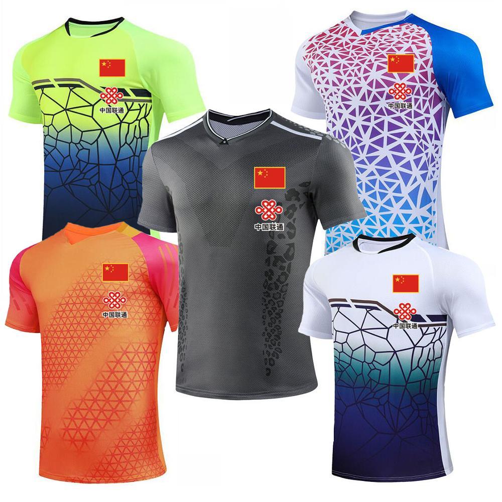 2020 CHINA Flag Badminton Shirts For Men Women , Girl Tennis T-Shirts , Female Table Tennis Jerseys Kit , Male Ping Pong Kits