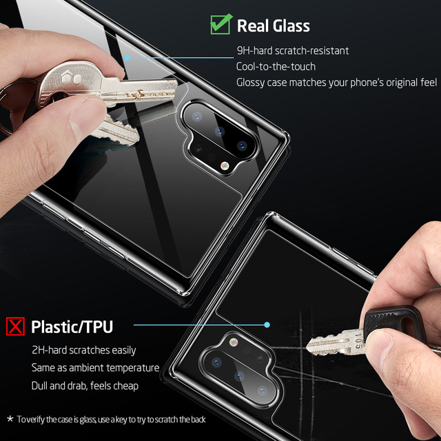 ESR Note 20 Ultra Case Tempered Glass Case for Samsung Galaxy Note 20 10 Plus S20 Ultra Clear Case For Samsung Note 9 10 Funda 2