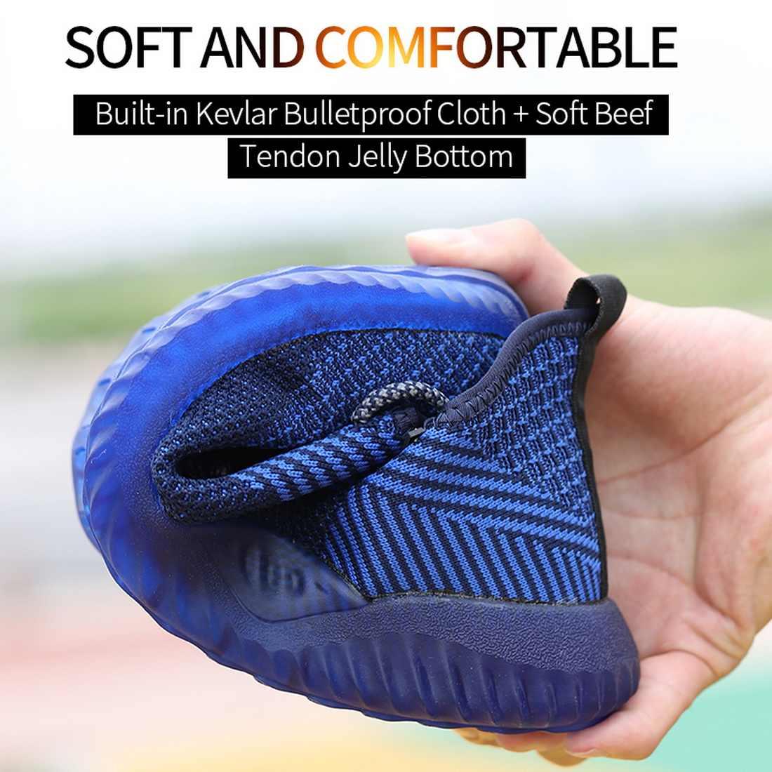 2020 di estate Scarpe Da Lavoro Anti Piercing Anti-Puntura Prova di Luce Peso Safty Scarpe Da Lavoro Stivali di Sicurezza Buty Robocze Męskie